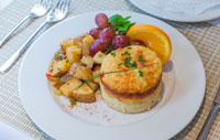 gourmet breakfast at bass cottage inn