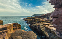 thunder hole in acadia